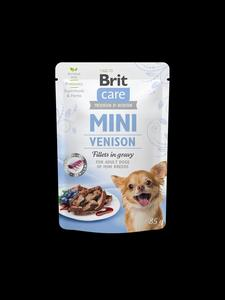 Brit Care Dog Mini kapsa Venison fillets in gravy 85g