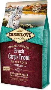 Carnilove Fresh Carp & Trout Sterillized for Adult Cats 6kg
