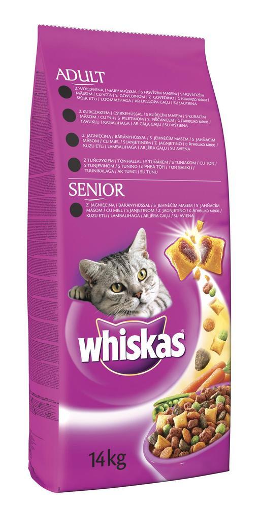 Whiskas Adult hovězí 14kg  4b70e728fa1