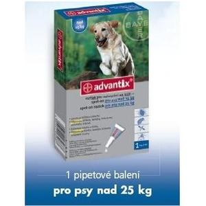 Advantix Spot-On 1x4ml nad 25kg